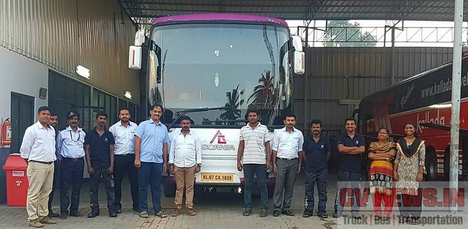 Team EVM Scania with Eon Connect