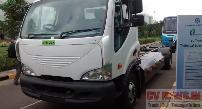 Ashok Leyland Boss Electric