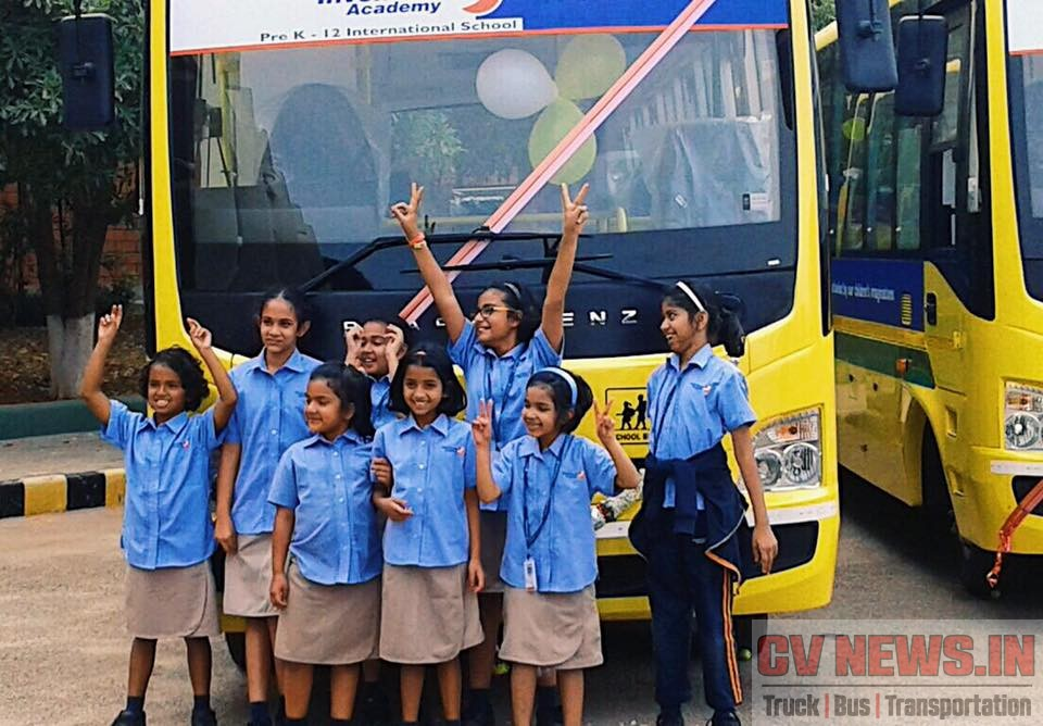 Bharat Benz 917 School Bus