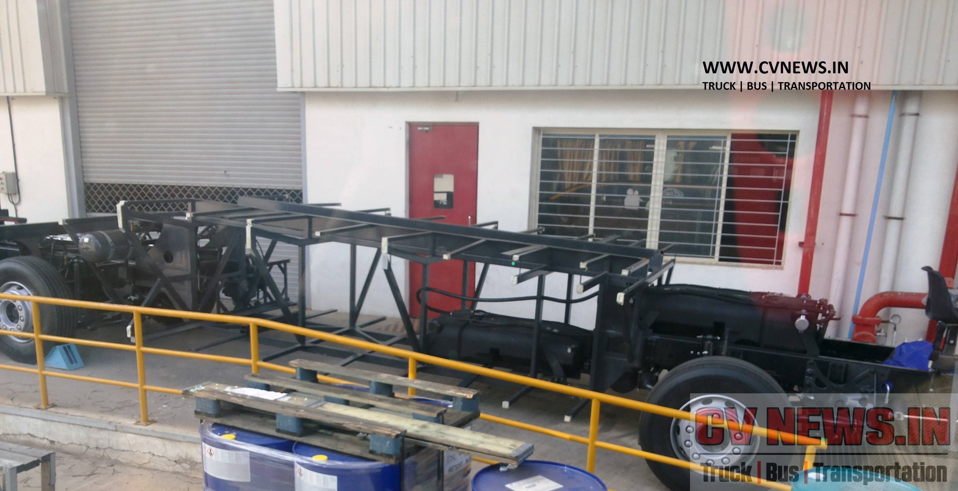 Volvo B9R Chassis