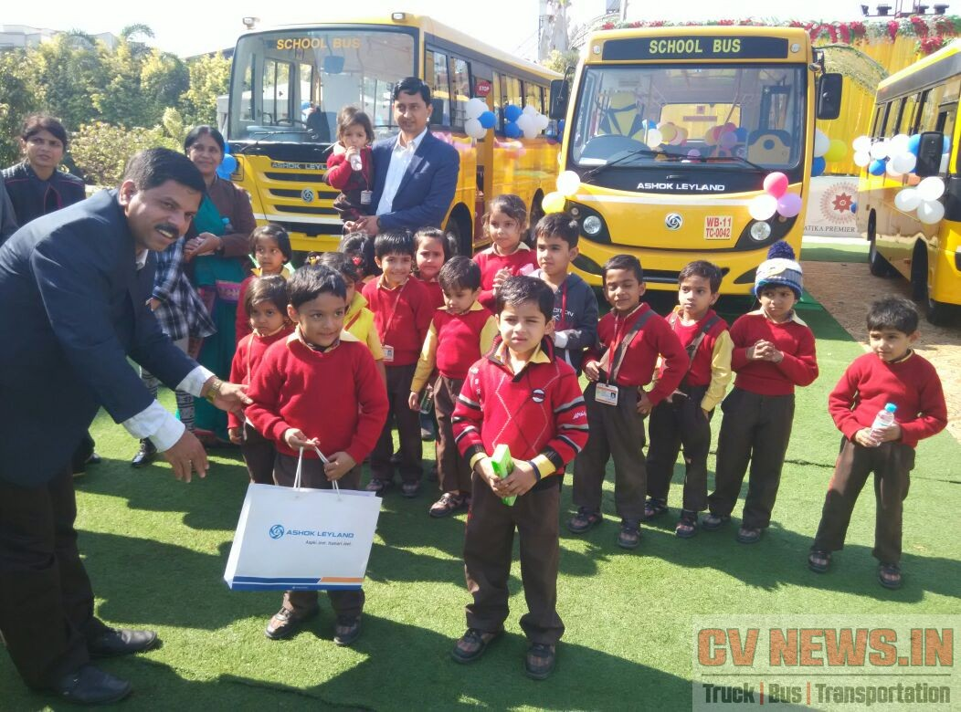 Ashok Leyland School bus (3)