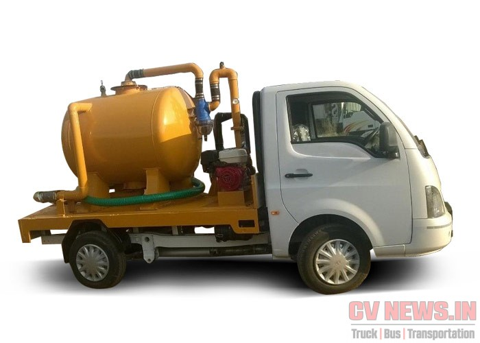 SUCTION MACHINE ON TATA SUPER ACE MINT