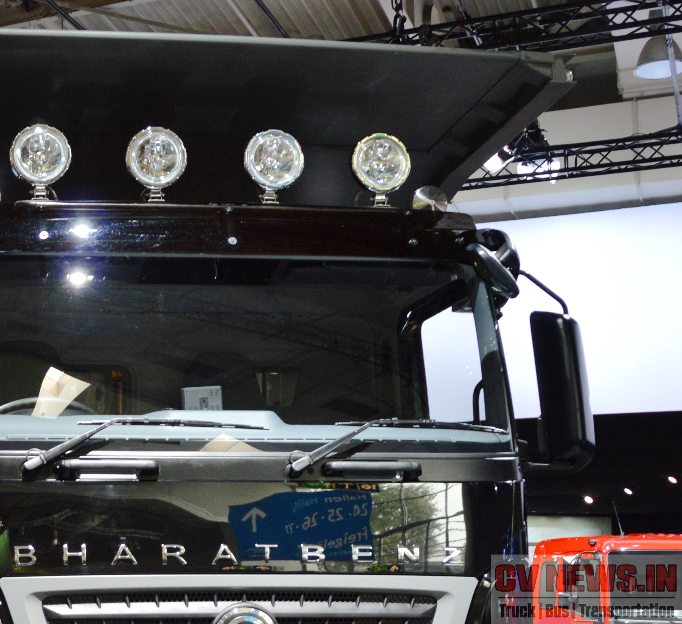 BharatBenz_3143_Mining_truck with proximity mirrors