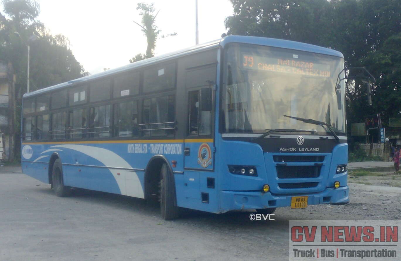 NBSTC Ashok Leyland SLF bus procured in JNNURM-2 scheme