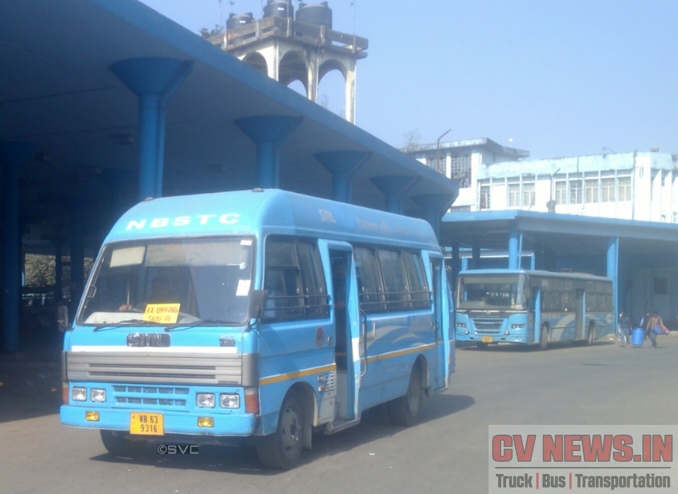 NBSTC SML T3500 Mini Bus received under JNNURM-2 scheme