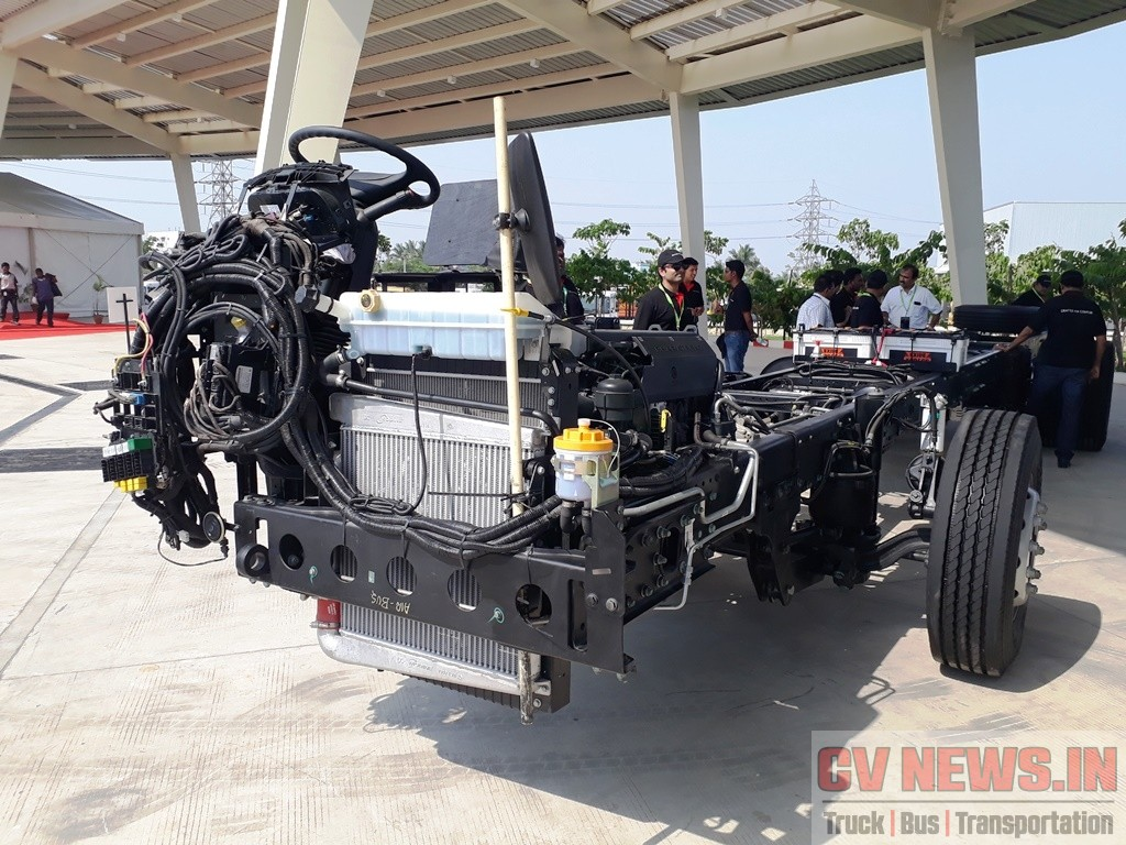 BharatBenz 1623 Chassis