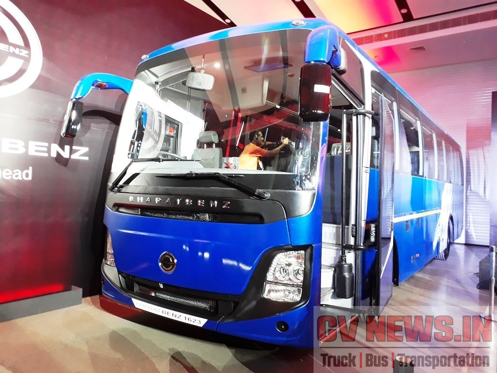 BharatBenz 1623 Intercity seater coach