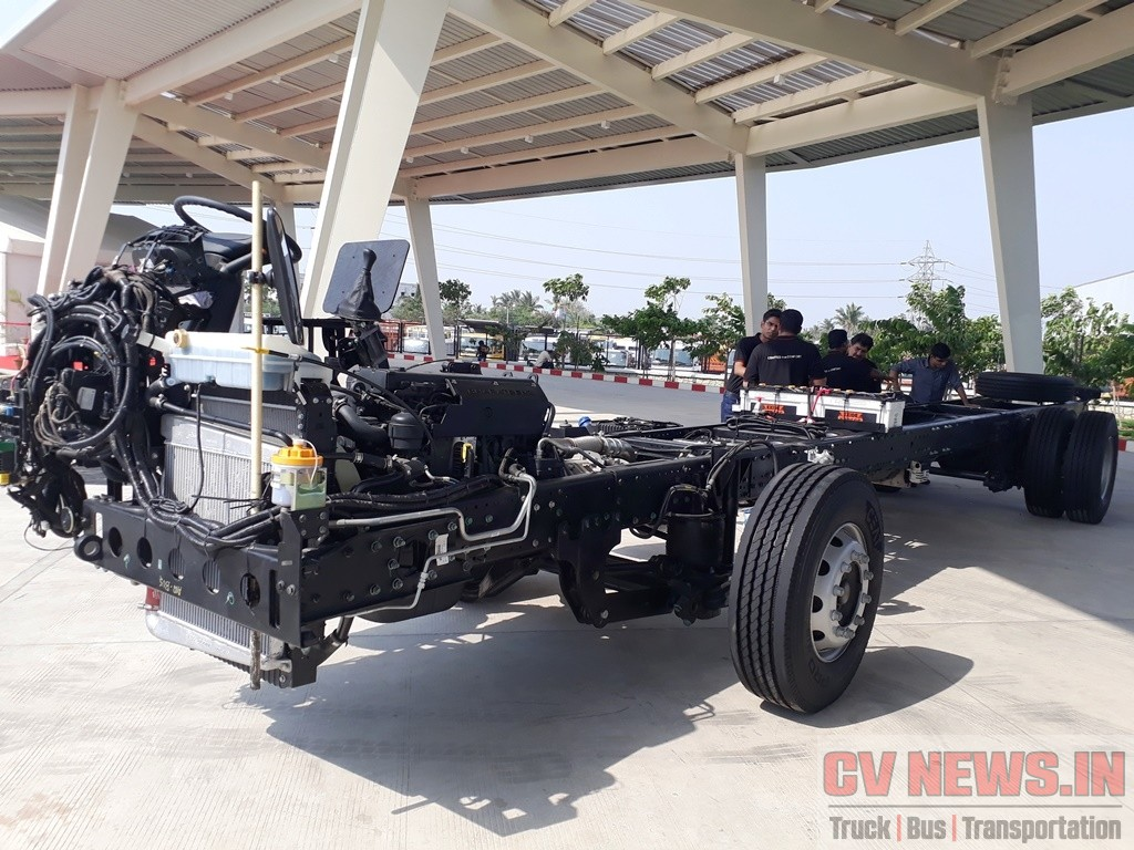 BharatBenz 1623 chassis 3