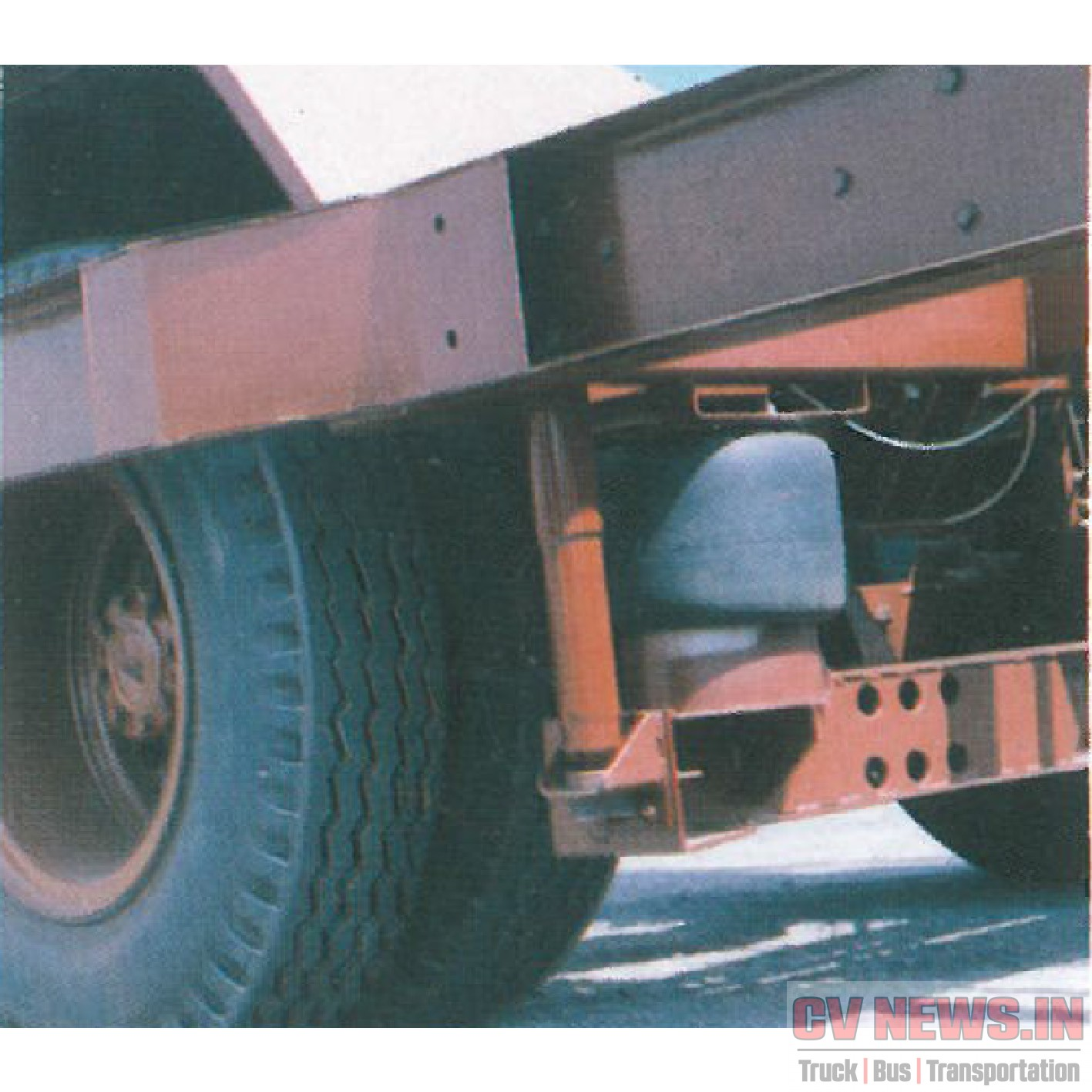 Ashok Leyland Leapard rear air suspension