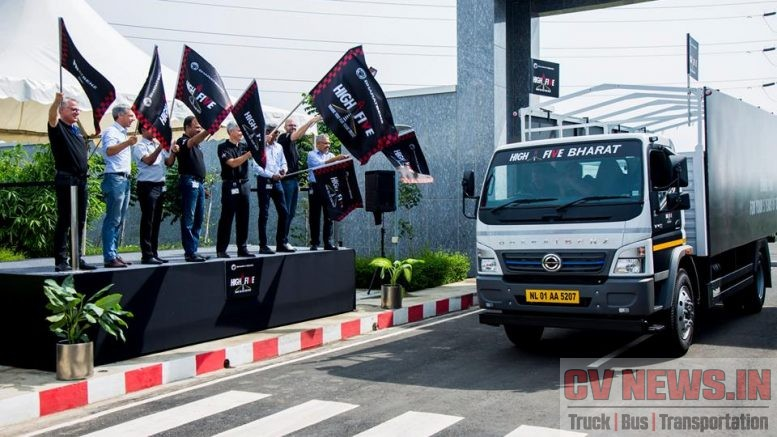 BharatBenz HighFive started on 14th August