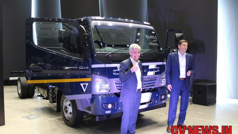 Mr. Erich Nesselhauf, Managing Director and CEO, Daimler India Commercial Vehicles.Mr. Marc Llistosella, Head of Daimler Trucks Asia.