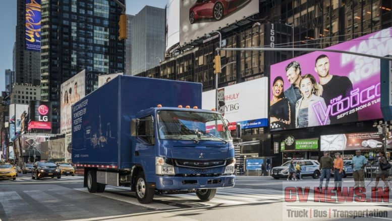 The local zero-emission, zero-noise eCanter will help transform New York City, and other urban areas, into cleaner and quieter places for everyday deliveries