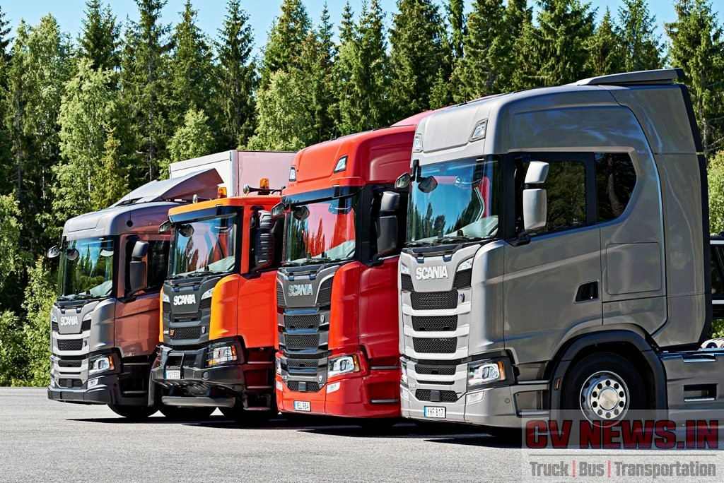 Scania Cab options