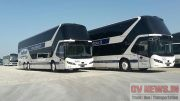 The 5000th NEOPLAN Skyliner in 50 years: the anniversary coach was delivered to the Baltour Group at Busworld, Europe.