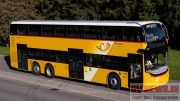 Alexander Dennis Enviro 500 made for PostAuto. The Swiss Operator has ordered 19 of them.
