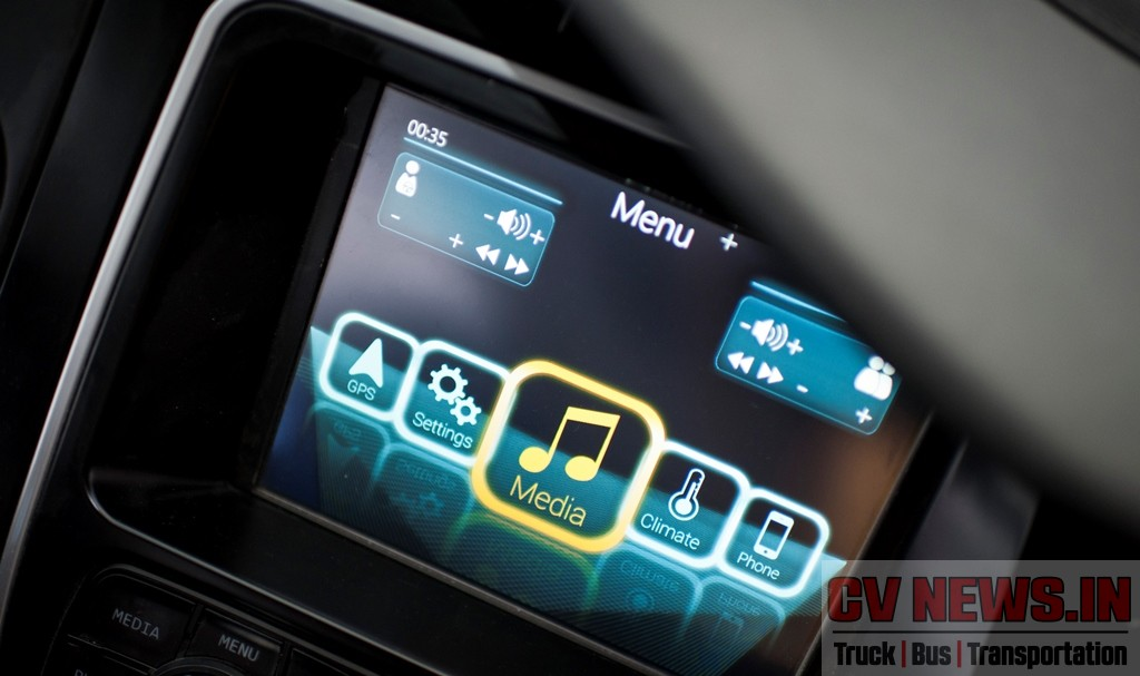 """Bosch Professional Line 3 audio system + DVD First monitor 22 """" Second monitor 18,5 """" HMI (Human Management Interface)"""