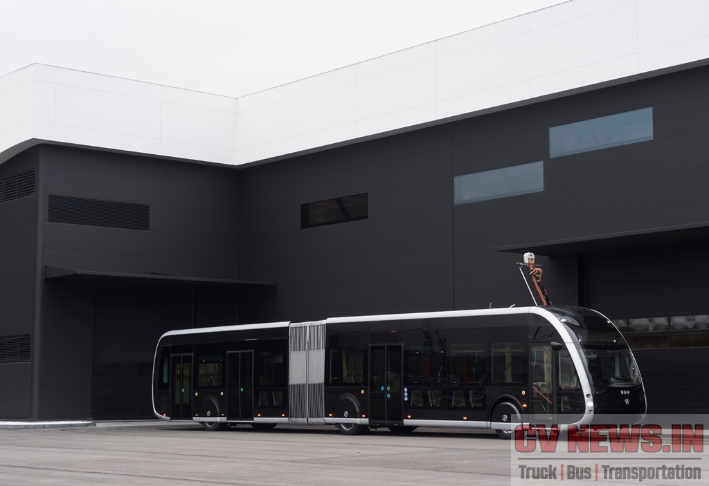 The Irizar ie tram is an articulated 18 metre bus, World Premiered at Busworld, Europe. Cities like Amsterdam still have trams running alongside of vestibule buses and passenger cars.