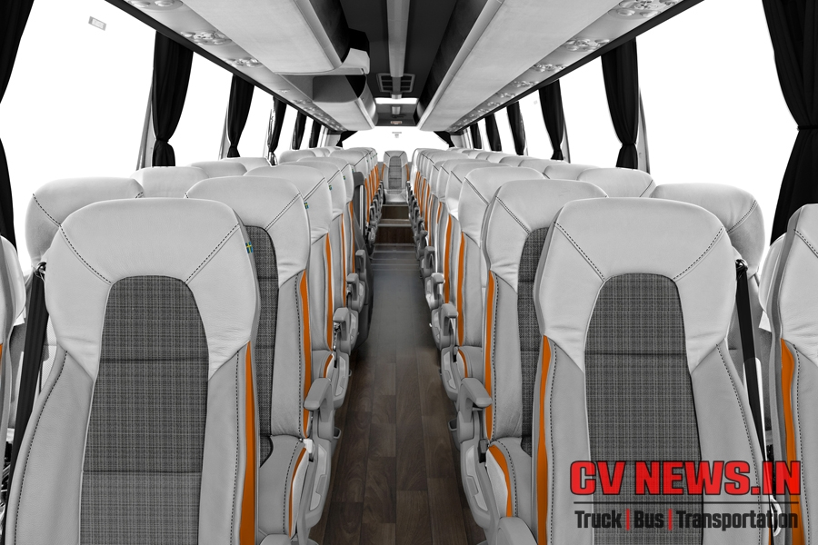 Volvo 9900 Seating